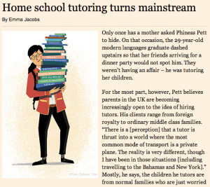 Tutorhub in the FT